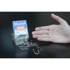 Anzol Mustad 92676- 6/0 (cento) niquelado