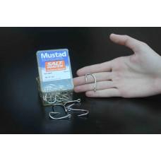 Anzol Mustad 92676- 7/0 (cento) niquelado