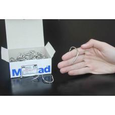 Anzol Mustad 92676- 9/0 (cento) niquelado