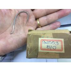 ANZOL MUSTAD 92553- 8/0 NIQUELADO (com 10 unidades)