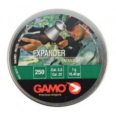 CHUMBINHO DE PRESSÃO GAMO EXPANDER  5.5mm (CX.C/250un.)