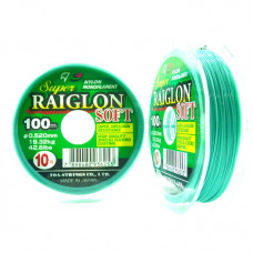 LINHA SUPER RAIGLON SOFT 6.0 0.405MM 100M MARINE SPORTS