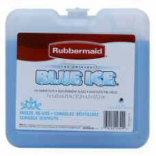 GELO ARTIFICIAL RUBBERMAID BLUE ICE QUADRADO GRANDE