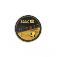 CHUMBINHO 4.5mm TECHNOGUN SONIC GOLD PENETRAÇÃO (C/250un.)