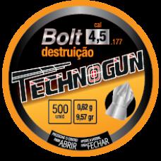 CHUMBINHO 4.5mm TECHNOGUN BOLT DESTRUIÇÃO (C/500un.)